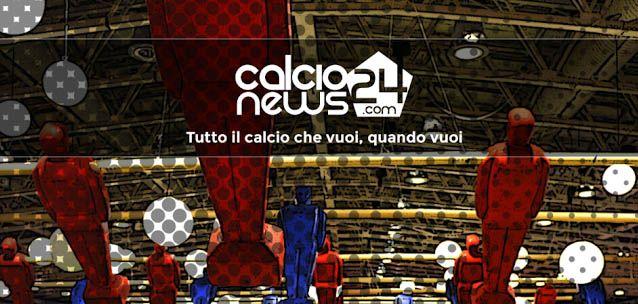 Calcionews24 - tutte le notizie calcistiche, 24 ore su 24.