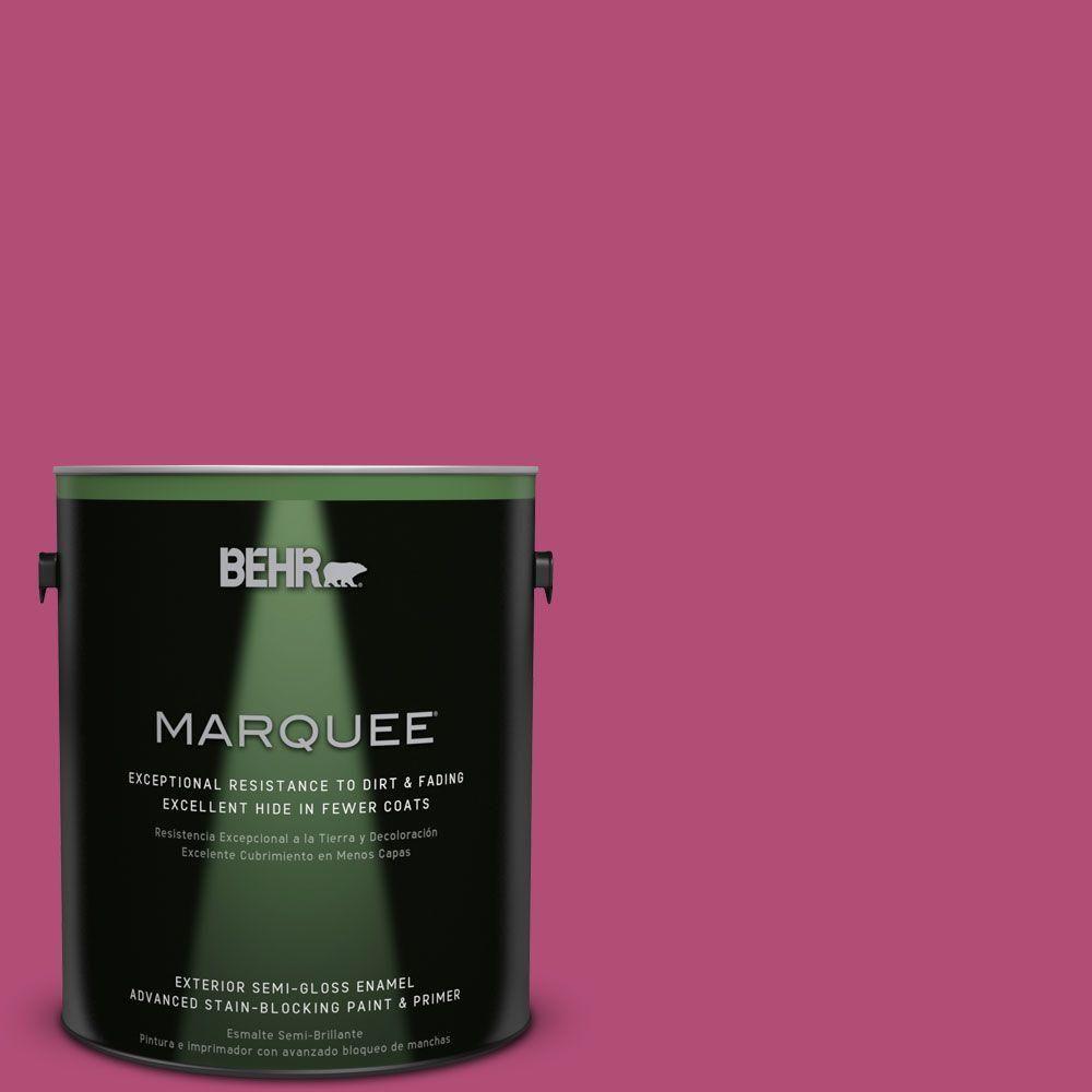 Behr Marquee 5 Gal P120 6 Diva Glam Flat Exterior Paint Behr  # Muebles Quivir Pibo