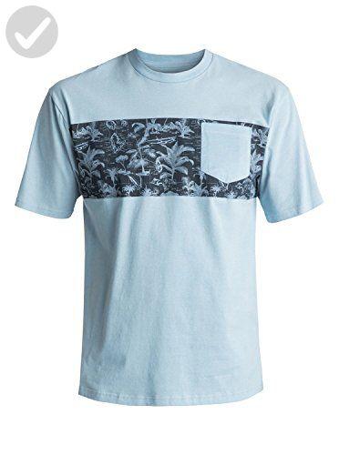 Quiksilver Waterman Men's Waterman Pocket Tee Shirt, Clean Air, M - Mens world (*Amazon Partner-Link)