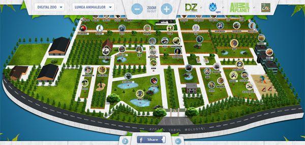 Harta Interactiva A Gradinii Zoologice Bucuresti Zoo Map