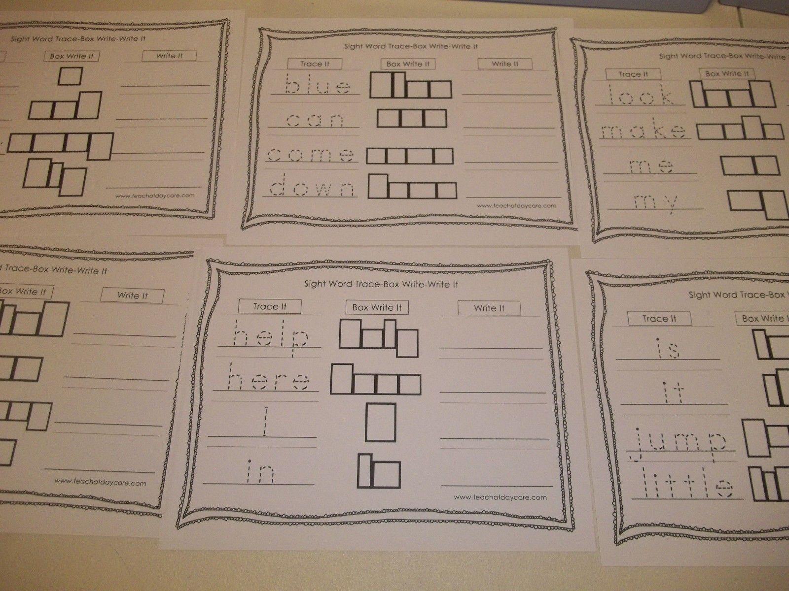 11 Classified Kindergarten Handwriting Worksheets Free