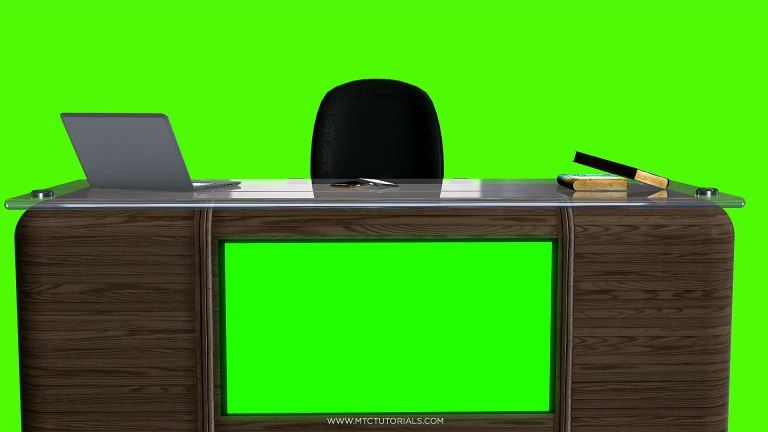 Studio Desk Free Backgrounds Table And Chair Mtc Tutorials In 2020 Virtual Studio Chroma Key Backgrounds Transparent Wallpaper