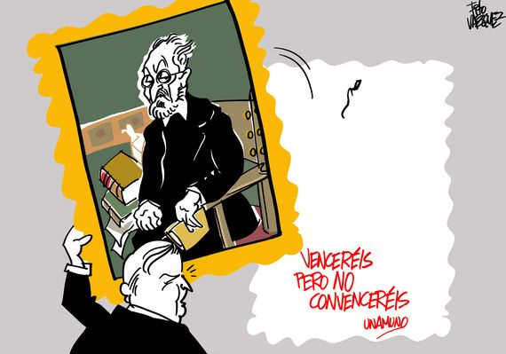 El ministro de Educaci�n retira a Unamuno�|�Fito V�zquez