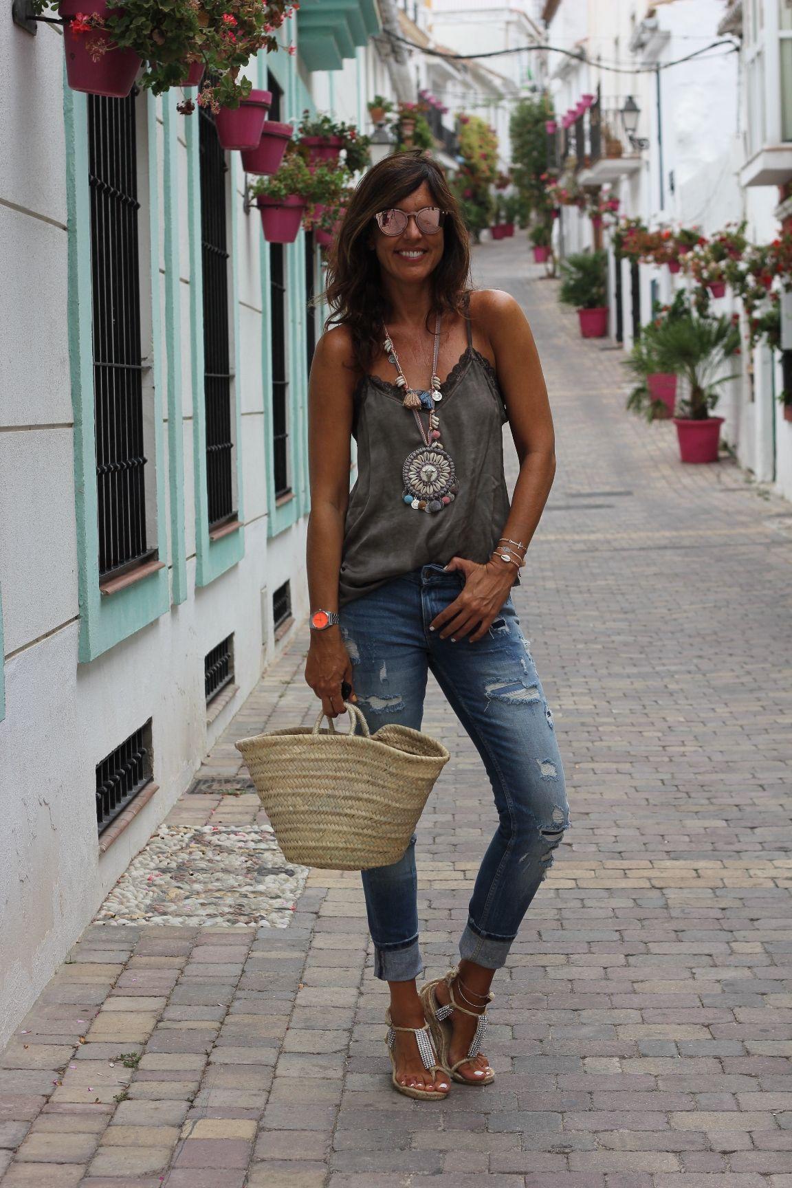 2be867992cc0 mytenida streetstyle: lingerie | Boho Chic | Boho fashion, Fashion ...