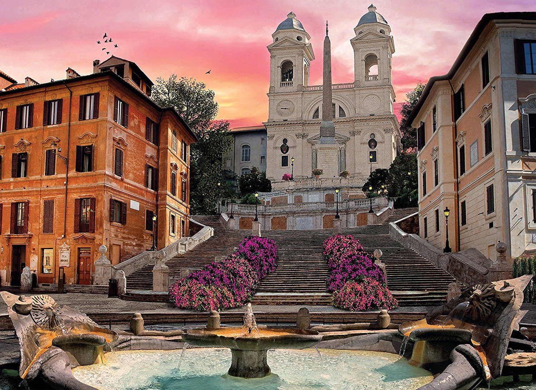 Romantic Italy Rome 1000 Piece Puzzle Romantic italy