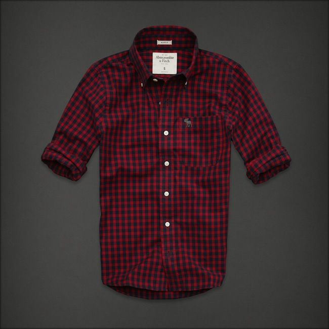 Abercrombie   Fitch. Abercrombie   Fitch Camisas Hombre ... 3082428b91e1f