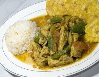 Como Hacer Receta Costarricense de Pollo en Salsa Caribeña