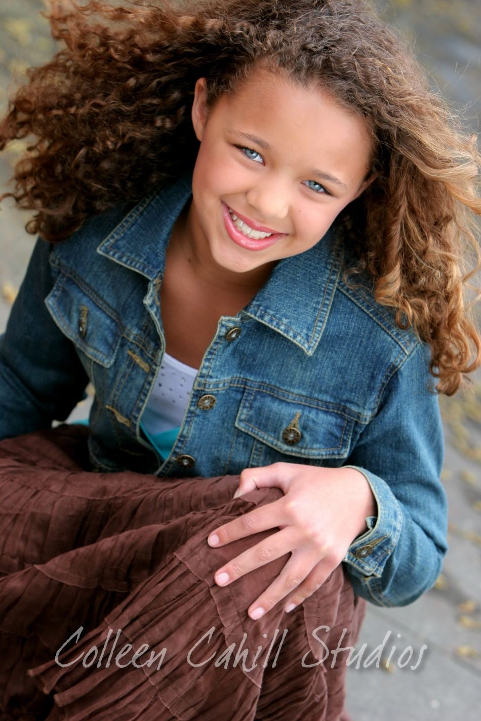 Shes A Beauty Curly Girl Hairstyles Beautiful Curly Hair Curly Kids