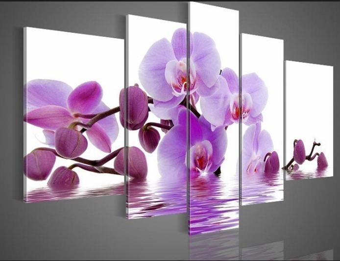 Cute orchid wall art