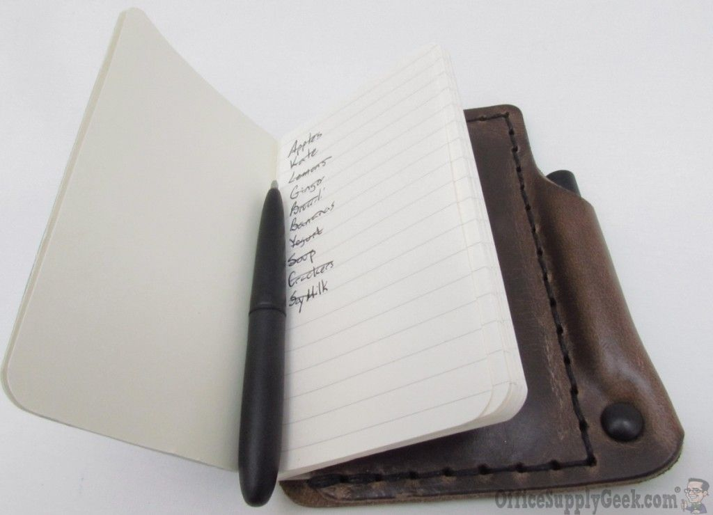 Architectu0027s Wallet - Pen, Wallet, and Notebook in One Grocery - grocery list form