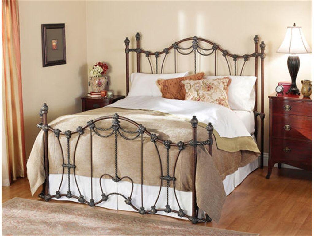 Wesley Allen Bedroom Maywood Complete Bed with Return
