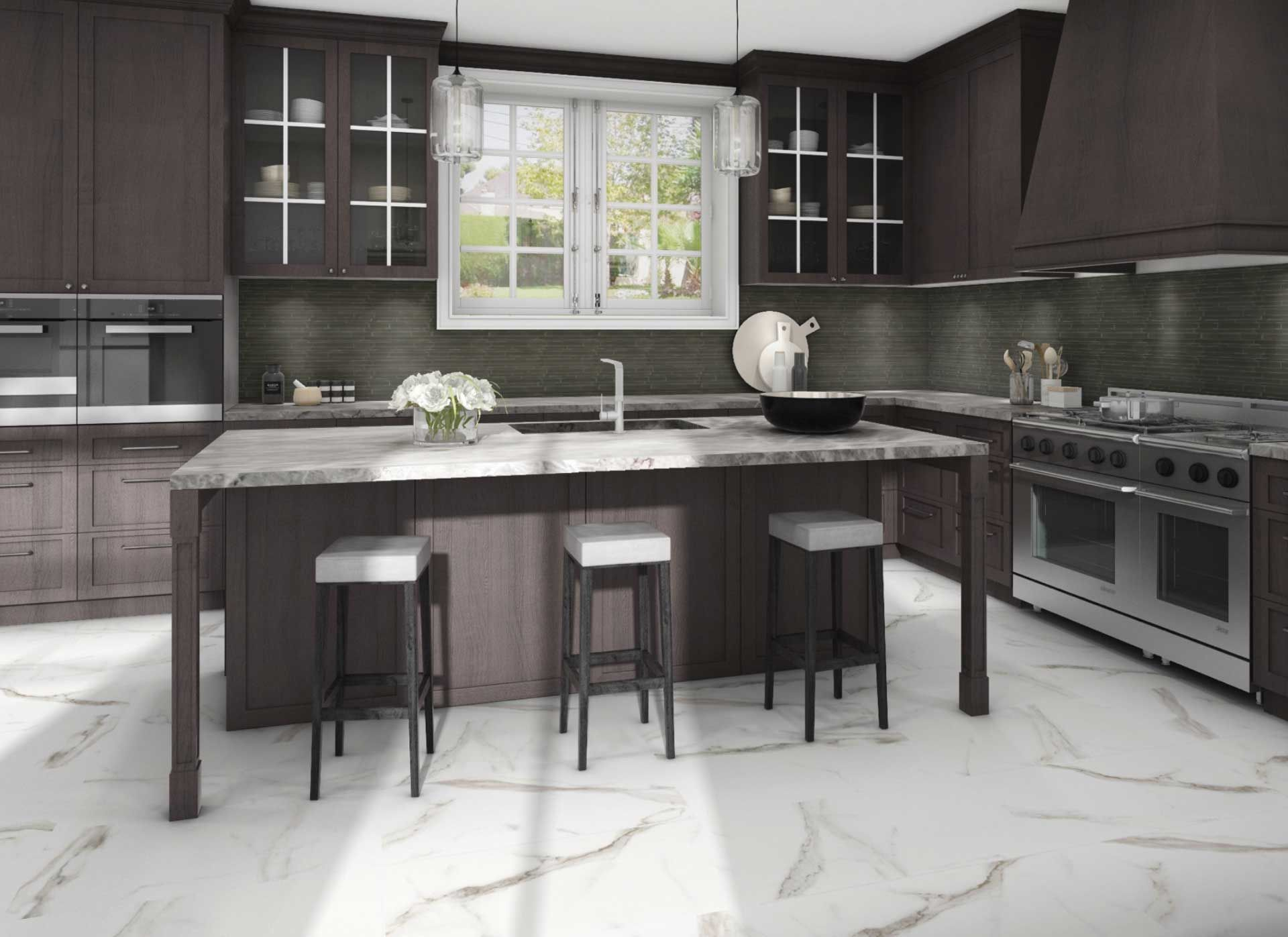 Pair Two Classics For A Classically Sophisticated Kitchen Translucent Urban