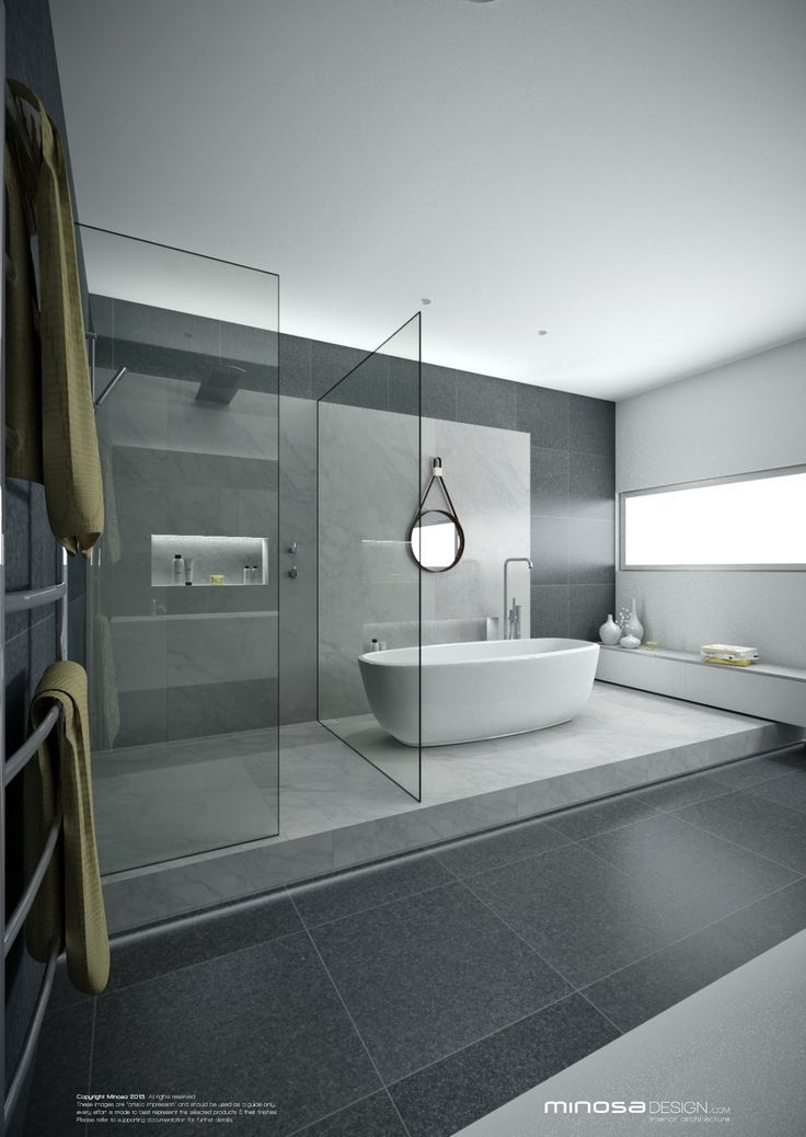 Incroyable 20+ Creative Grey Bathroom Ideas To Inspire You; Letu0027s Look At Your Options