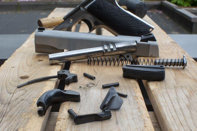 How To Blue A Gun Hot Cold Shooting Guns Weapons Firearms