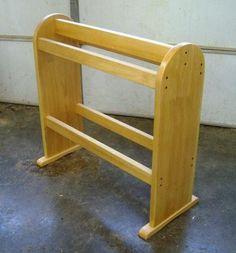Free Quilt Rack Plans How To Build Blanket Racks Woodworking