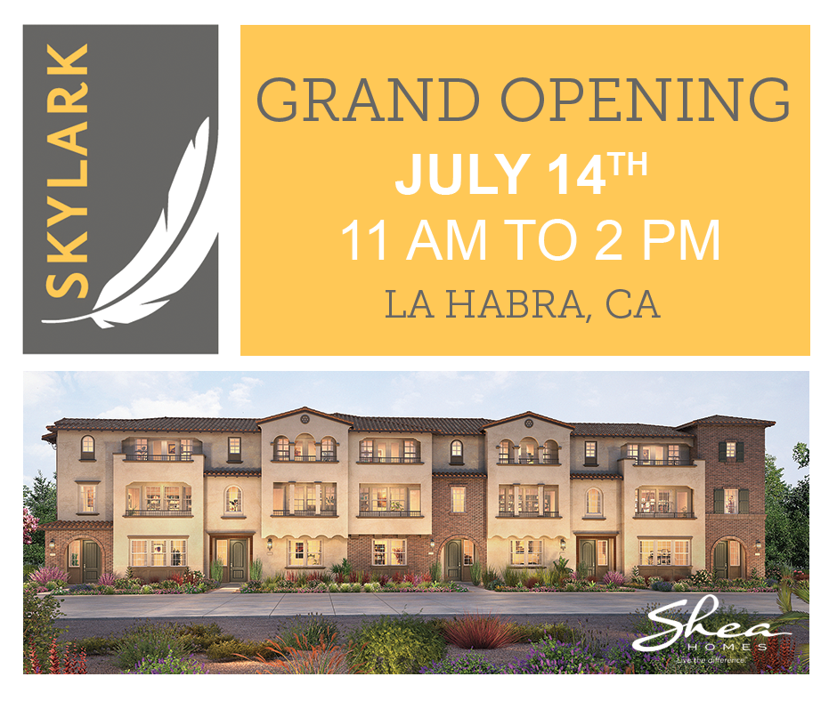 Skylark Model Grand Opening on July 14th!