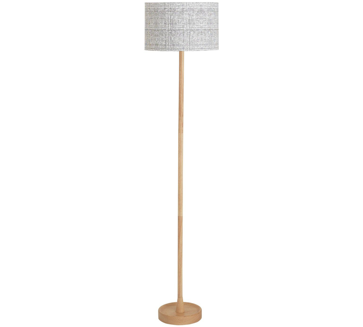 Buy Collection Mono Wooden Floor Lamp at Argos.co.uk, visit Argos.co ...