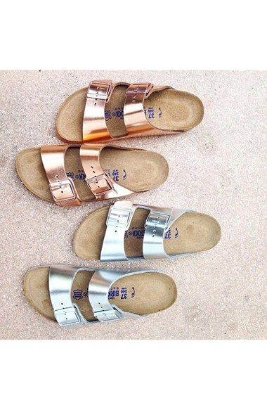 free shipping and returns on birkenstock 'arizona' soft footbed