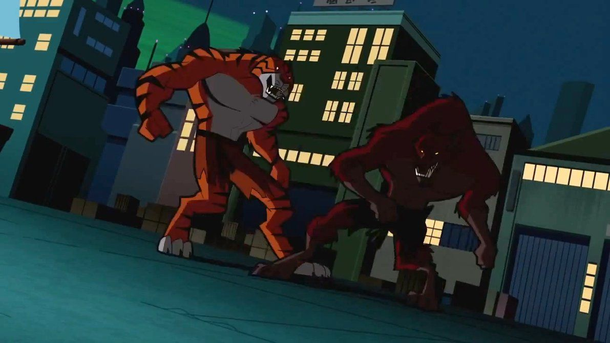 Batman Brave And Bold Bronze Tiger And Fox By Https