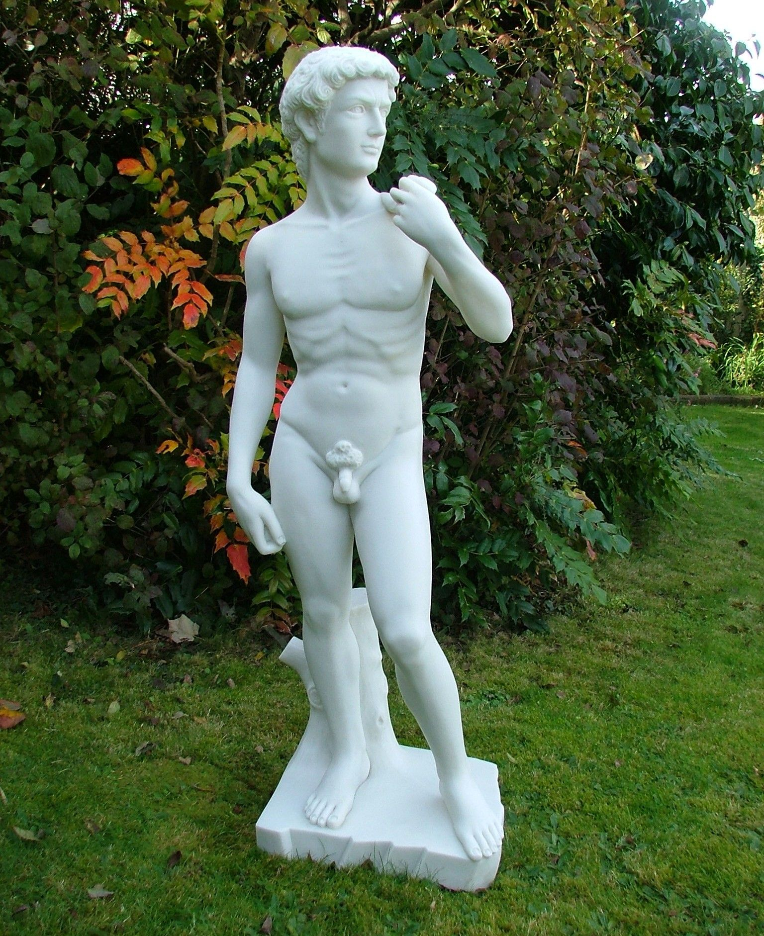 Michelangelo David Statue Large Garden Sculpture Nude Art. Buy Now At  Http://