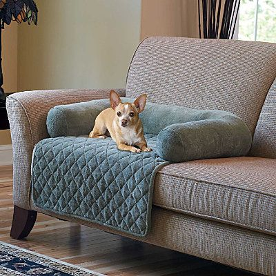 For Loveseat Dog Couch Cover Pet Bed Bolster Covers