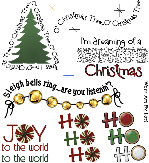 Winter Word Art In Word Art Forum With Images Winter Words Word Art Christmas Words