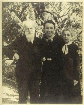 Ottilie Moore et les grands-parents  de Charlotte, ca. 1939