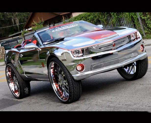 Хромированный Chevrolet Camaro (22 фото)   Автомобиль ...