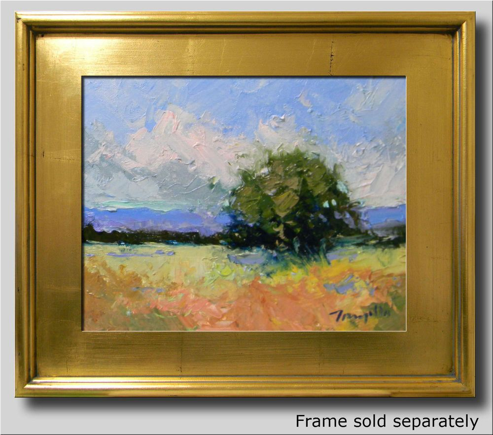 JOSE TRUJILLO PLEIN AIR IMPRESSIONIST ORIGINAL OIL PAINTING SOUTHWEST DESERT ART…