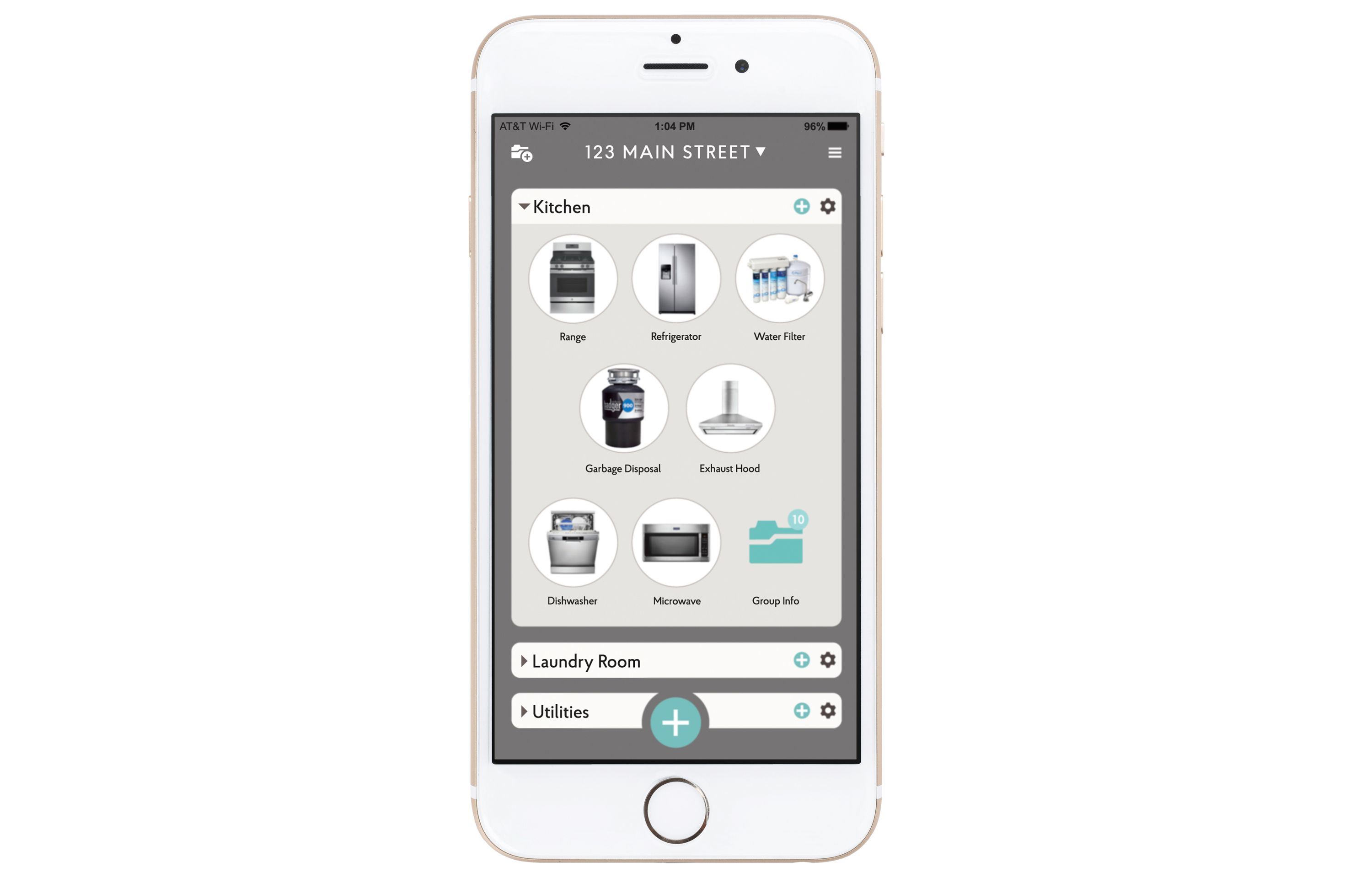 keep track of home maintenance with the centriq home app tool