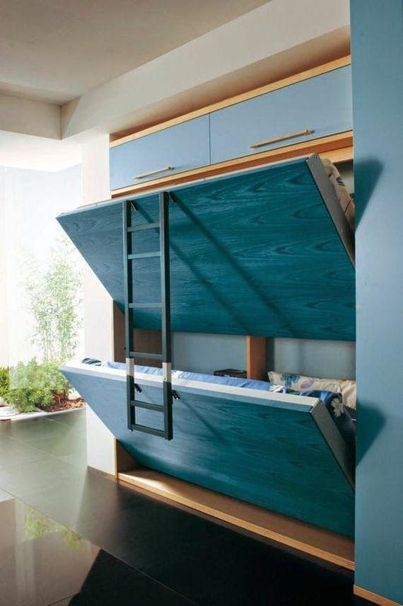 21 fotos de decoraci n de dormitorios peque os modernos for Cuartos de ninas modernos