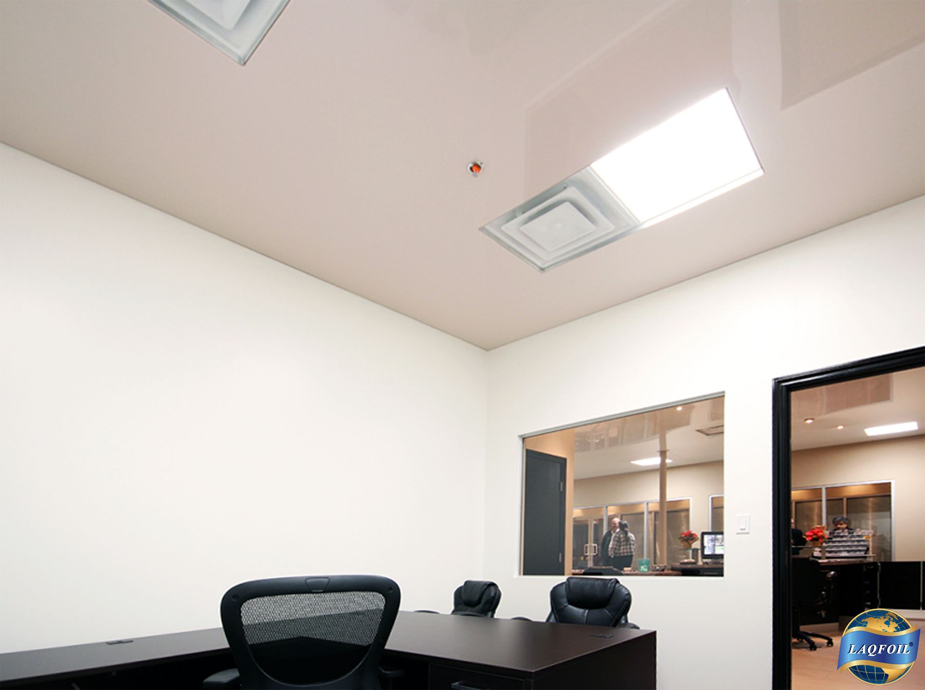 A private office at the Home & Design Expo Center, Toronto, Ontario ...