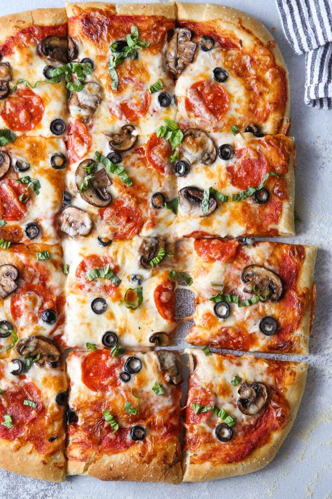 The Best Homemade Pizza Dough - Completely Delicious