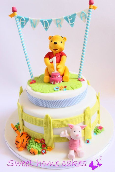 winnie the pooh cake cakes and cupcakes for kids birthday party pinterest geburtstag torte. Black Bedroom Furniture Sets. Home Design Ideas
