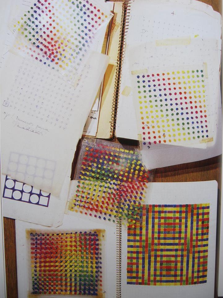 Julio Le Parc, Cuadernos de bocetos, década del 70