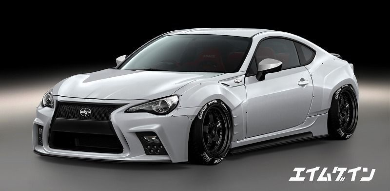 Aimgain Wide Body Kit Pricing Now Available Scion Fr S Forum Subaru Brz Forum Toyota  Forum As1 Forum Ft86club