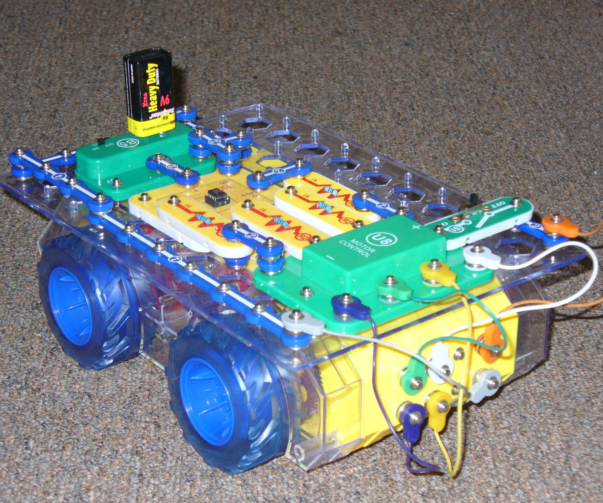 Make A Simple Snap Circuits Programmable Robot Library Teens Elenco Sc750 Extreme New Ebay In This Instructable You Will Learn How To Build