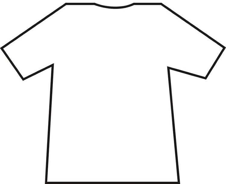 Download T Shirt Template Word Shirts Shirt Template Tshirt Template