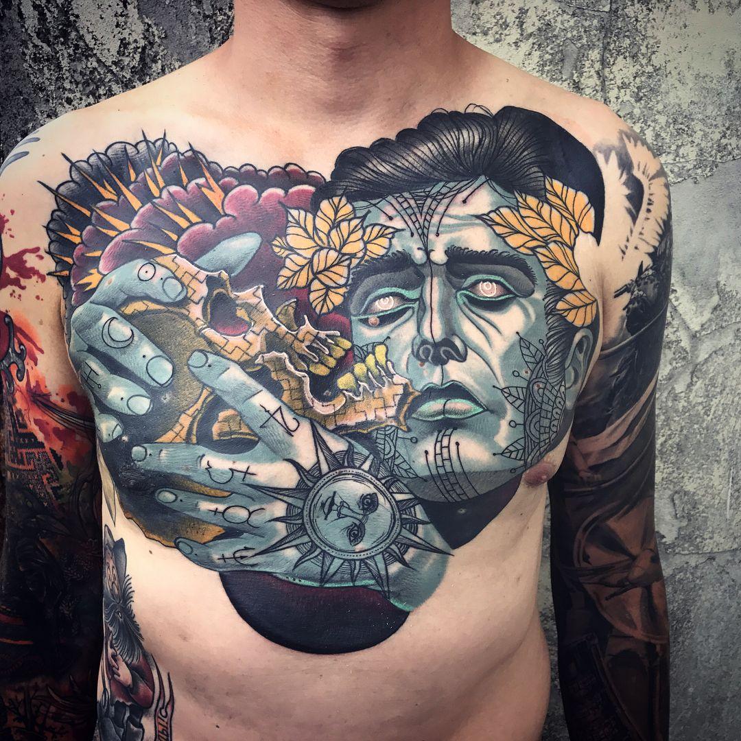 Стили татуировок с примерами и фото