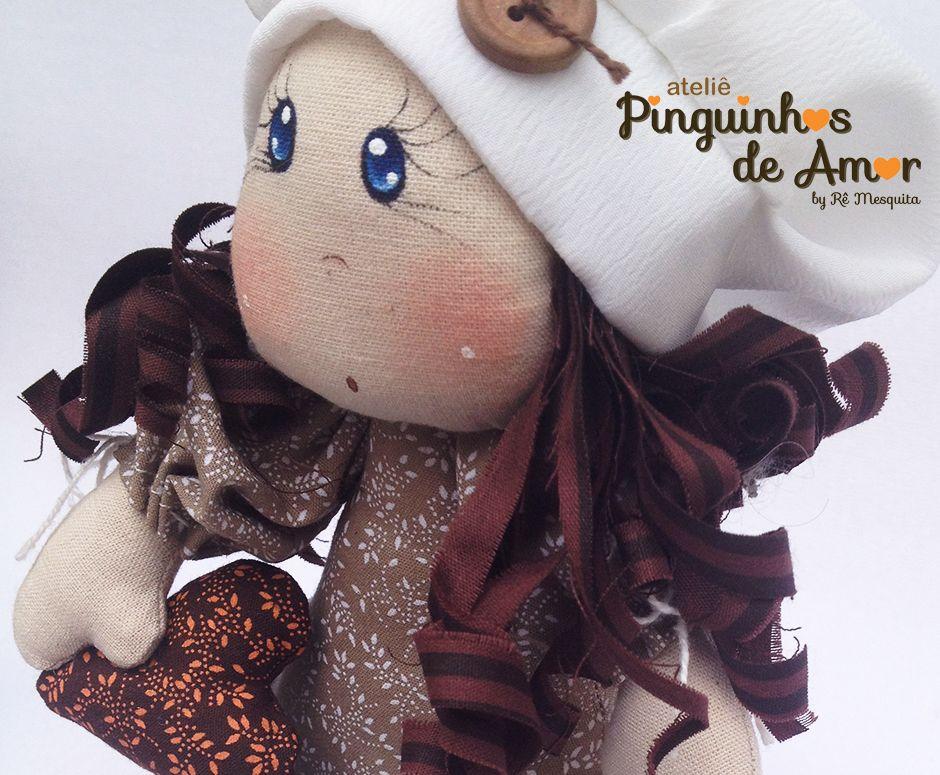 Boneca na Xícara Coleção Viagem & Saudades https://www.facebook.com/ateliepinguinhosdeamor/