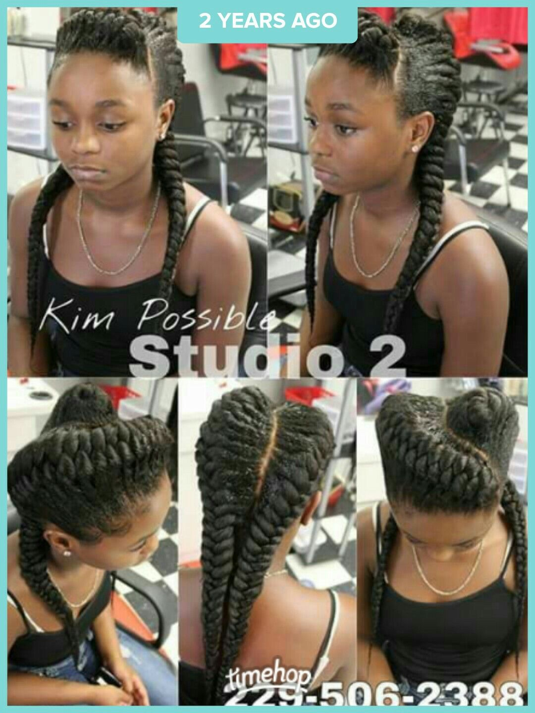 Pin by demetria williams on braids pinterest black girls