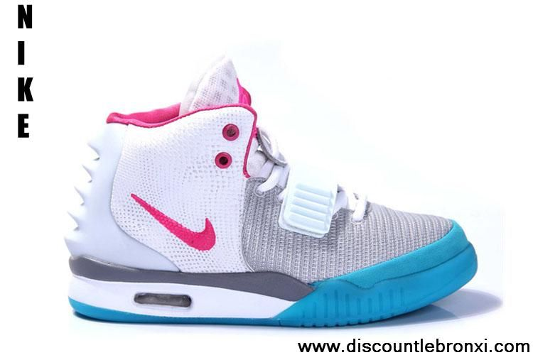 fe9e572a34e Buy Grey Think Pink-Blue Shoes Nike Air Yeezy II Women Shoes Shoes Store
