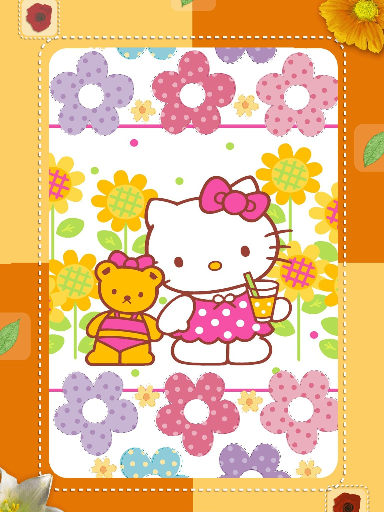 Amazing Wallpaper Hello Kitty Orange - 7cfd7e83fff3b2e43814bef58c43af60  Snapshot_983283.jpg