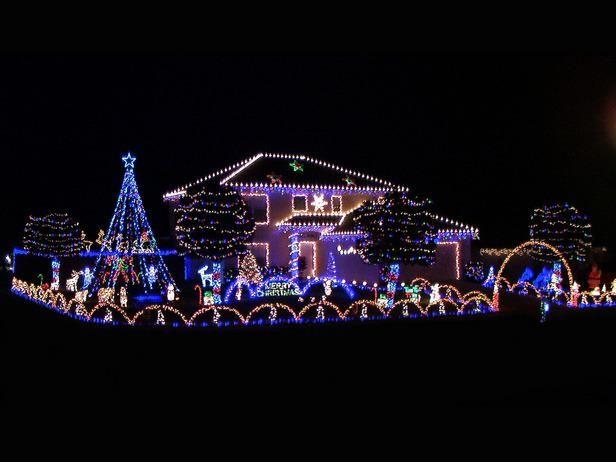 Decorating Modern Style Home Decor House Lights Christmas