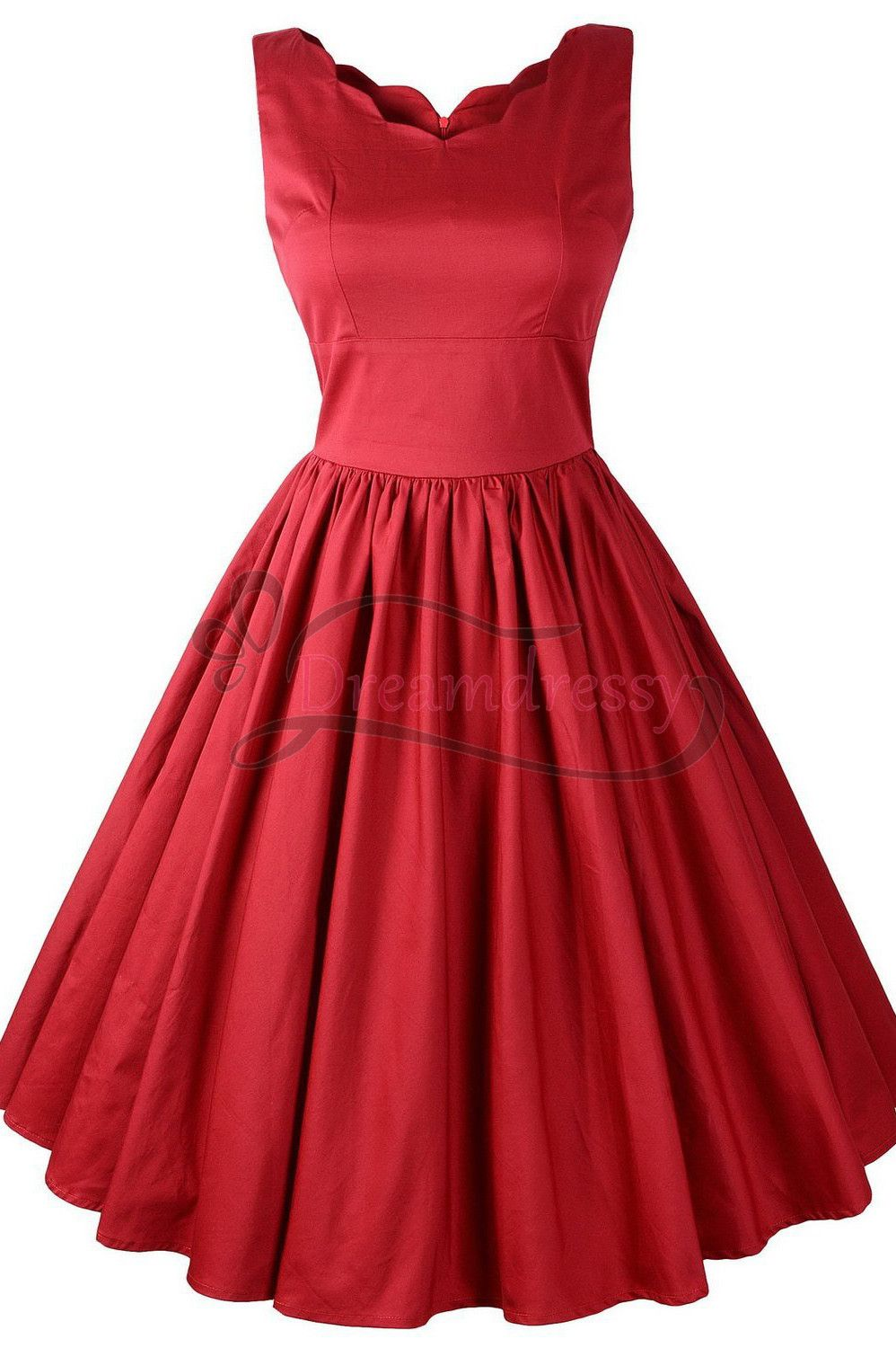 Simple aline short red dress yourself pinterest short red