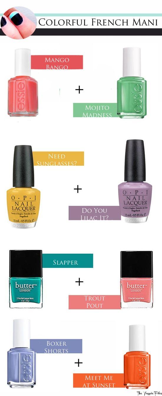 Nail Polish Color Combinations