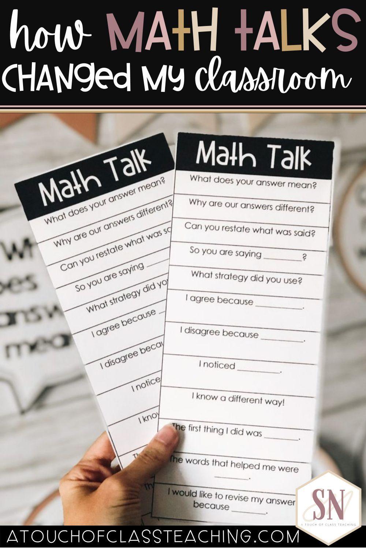 Math Talk In The Elementary Classroom In 2021 Math Talk Math Instruction Math Classroom [ 1500 x 1000 Pixel ]