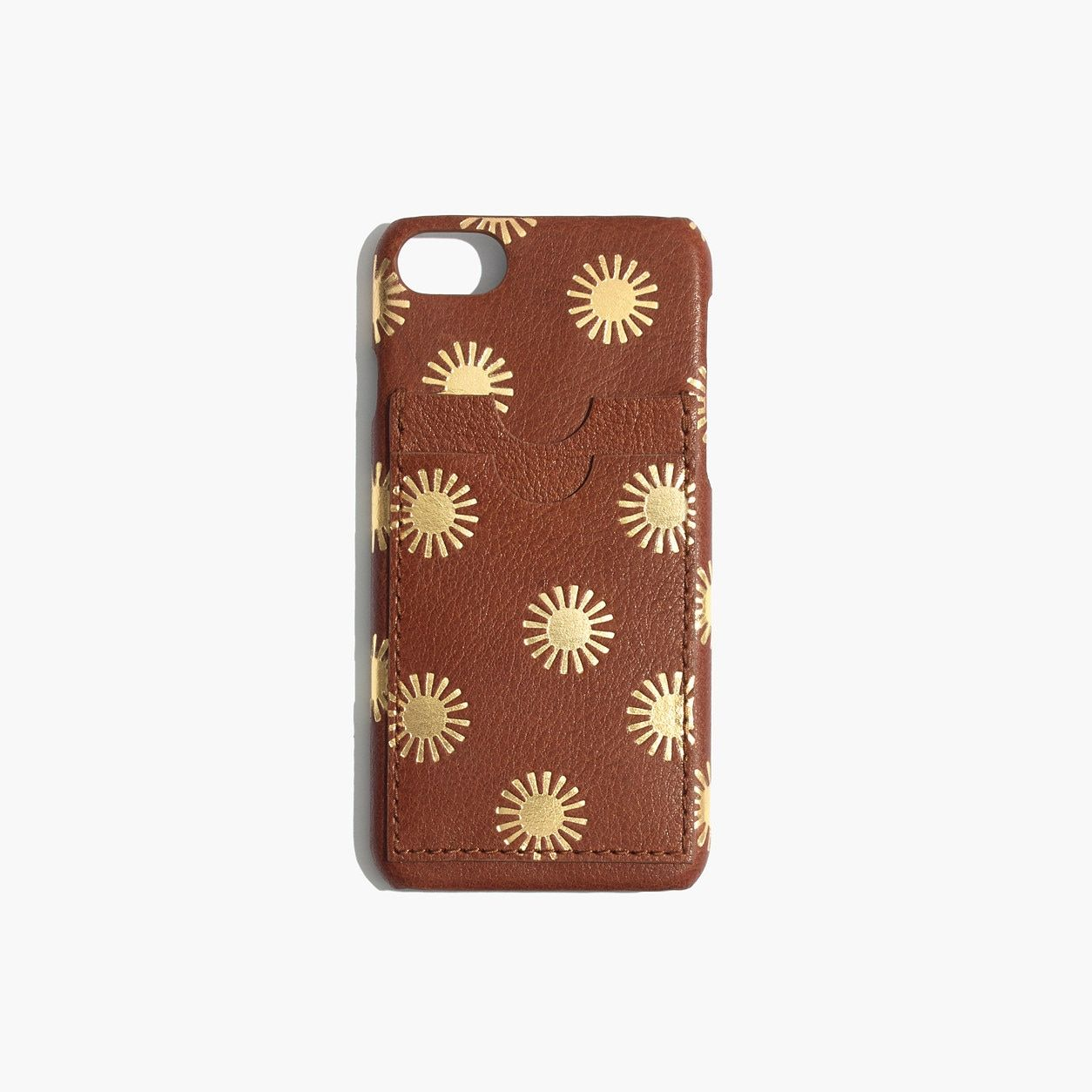 premium selection 858ae 3df9e Madewell Leather Carryall Case For Iphone 6/7/8: Sun Embossed ...