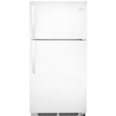 Frigidaire 14.6 cu. ft. Top Freezer Refrigerator Color: White