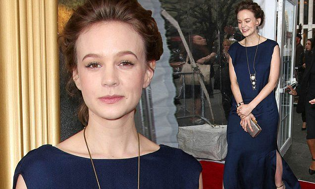 Carey Mulligan covers her shape in gown at Far From The Madding Crowd